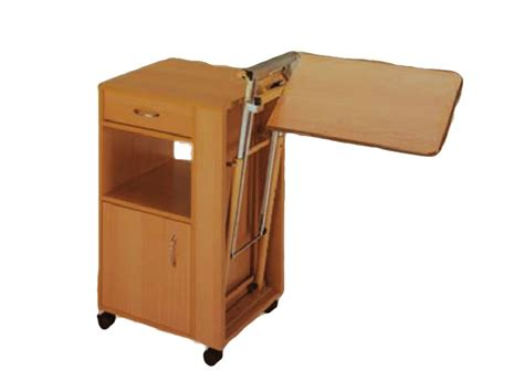 bedside table height bedside table height adjustable tray wood for 27672 3