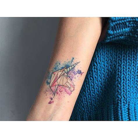 tattoo geometric watercolor tattoo barisyesilbas watercolor geometric