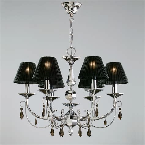 black chandelier shades g7 black 834 3 chandeliers with