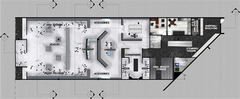 Bellagio Floor Plan by Prada Retail Store