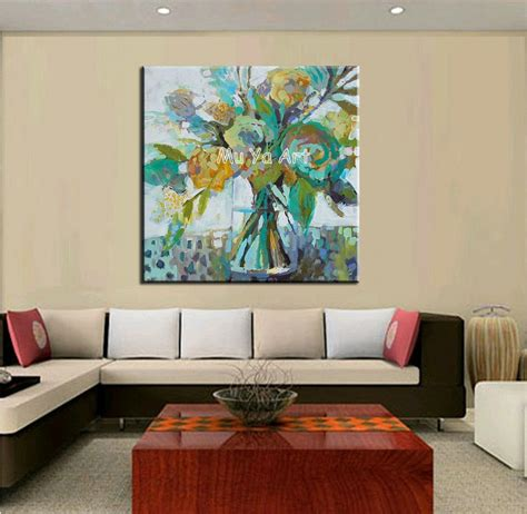 Large Kitchen Canvas by Big Abstract Modern Canvas Wall Handmade Artist