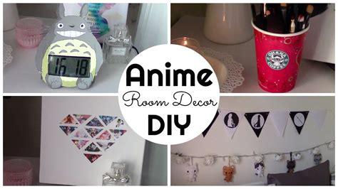 anime bedroom decor anime inspired room decor diy ita chibiistheway youtube