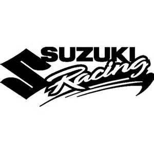 Suzuki Racing Decals Zoom