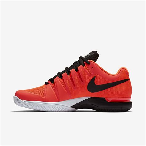 nike mens zoom vapor 9 5 tour tennis shoes crimson black