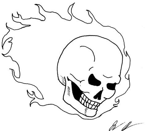 doodle rider ghost rider skull doodle by eldrichhydralisk on deviantart