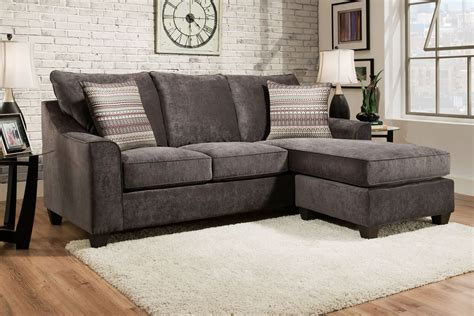 grey sofa with chaise elizabeth grey sofa with moveable chaise