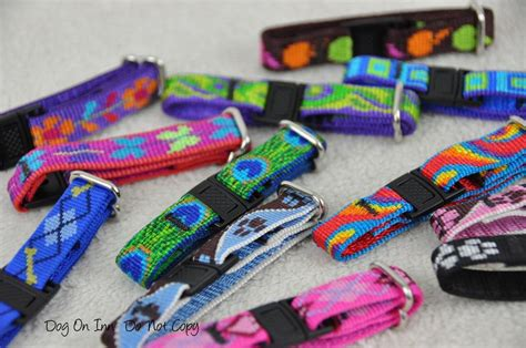 puppy whelping collars lupine whelping collars set of 12 puppy id bands adjustable buckle ebay
