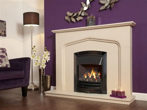 Gas Fireplace Controls by Flavel Decadence Plus He Slide Black Nickel Gas