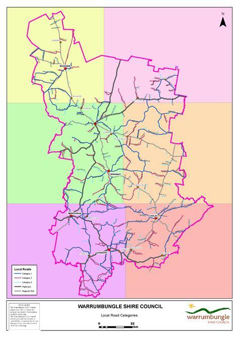 local road map warrumbungle local road maps warrumbungle shire council
