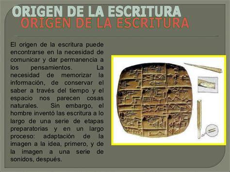 el origen de la 8415996063 escritura origen