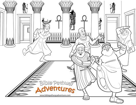 free bible coloring pages joseph and his brothers free bible coloring page joseph reunited with brothers