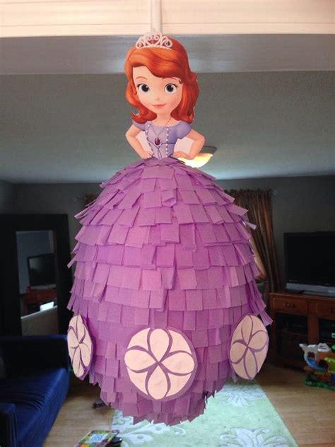 Como Aser Piata De La Princesa Sofia | como hacer pi 241 atas de princesa sofia paso a paso
