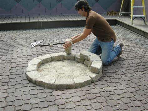 How To Make A Backyard Fire Pit Quiet Corner How To Build A Backyard Firepit