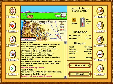 old dos games download full version play play oregon trail game online free games online