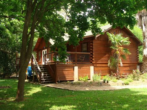 San Marcos River Cabins For Rent san marcos river log cabin vrbo