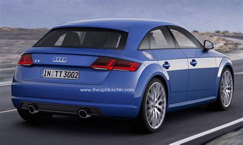Audi Tt 4 Door by Audiboost Audi Will Add A Third Tt Model Variant Audi