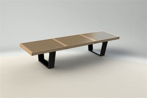 nelson platform bench knock off platform bench outdoor images