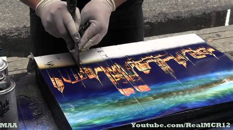new york spray painter amazing talent new york city spray paint