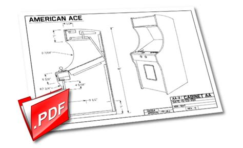 Arcade Cabinet Pdf by Build Your Own Arcade By Archie Kickstarter