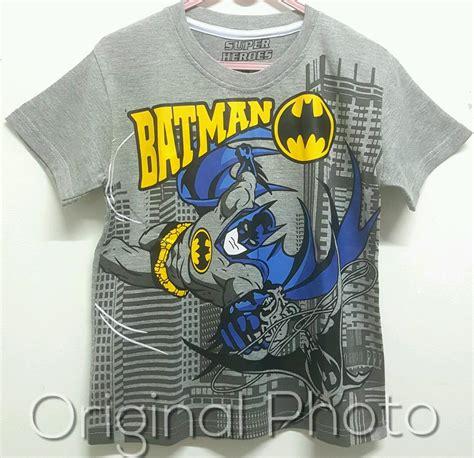 Baju Batman Kaos Batman kaos batman keren1 6 grosir baju anak grosir
