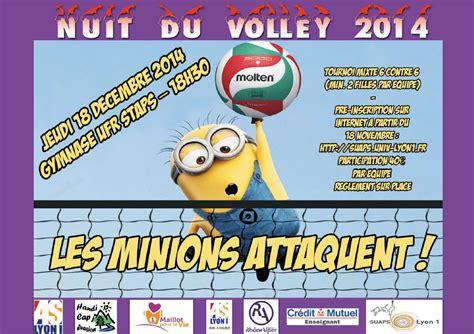 Calendrier O Lyon Nuit Du Volley Semestre D Automne 2014 As Lyon 1