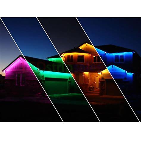 outside led light strips 12v 5050 smd 60 multicolor led light with remote waterproof le 174
