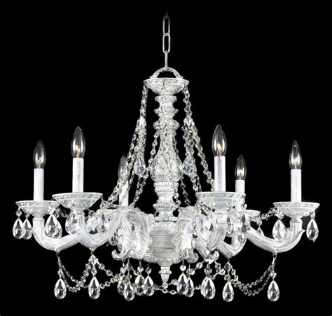 crystorama sutton antique white 28 quot wide chandelier