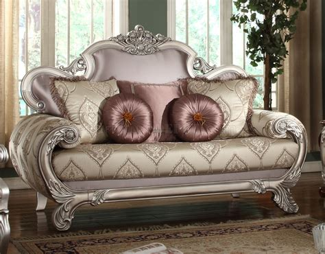 traditional style loveseats doris fabric sofa in traditional style w options