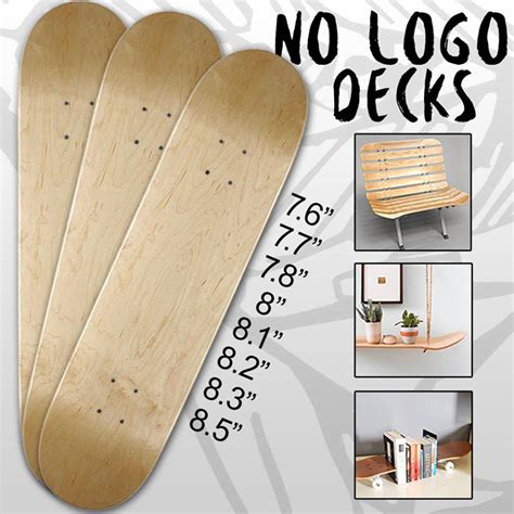 tavola da skateboard tavola da skate blank no logo made in europa
