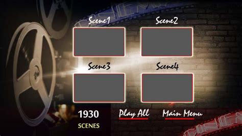 encore cs6 menu templates free adobe encore dvd menu template telrang