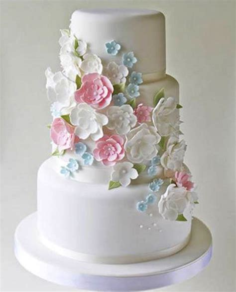 Wedding Card And Box Shop Colombo by 3 Tier Wedding Cake With Multi Color Flowers Sri Lanka