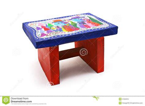 Schemel Kinder by Handwerk Der Kinder Schemel Lizenzfreie Stockbilder
