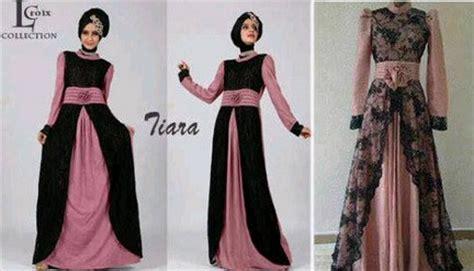 desain gaun muslim brokat 10 contoh model desain baju muslim brokat terbaru 2015