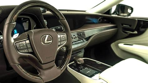 lexus ls interior 2018 2018 lexus ls 500 luxury interior youtube
