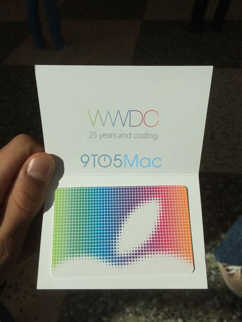 App That Gives You Gift Cards For Watching Tv - apple giving out 25 app store gift cards jackets to wwdc 2014 attendees 9to5mac