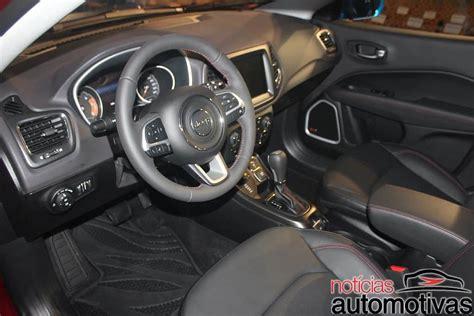 jeep compass 2017 interior 2017 jeep compass interior live image indian autos blog