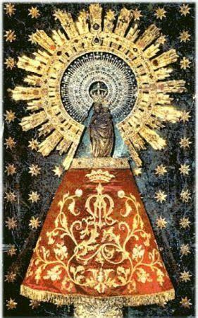 imagenes virgen maria pilar virgen del pilar imagenes religiosas a punto de cruz