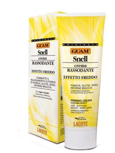 sensazione di freddo interno guam snell crema rassodante effetto freddo ml 250