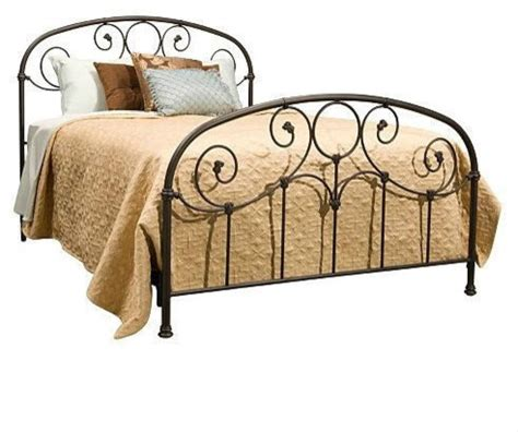 metal headboard and footboard king king size metal bed with headboard and footboard rusty