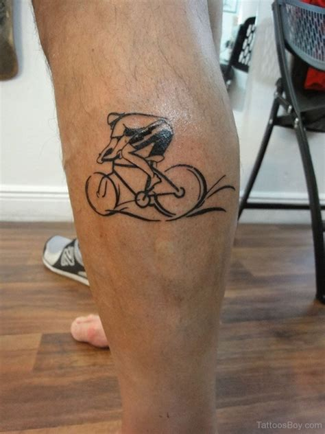 cycling tattoo designs bicycle tattoos designs pictures page 2