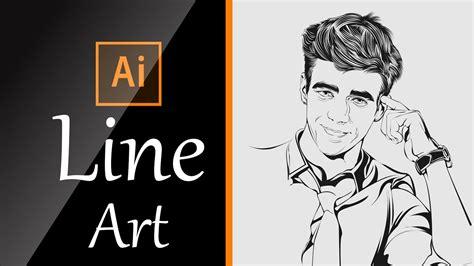 tutorial line art illustrator the best tutorial to learn line art using adobe