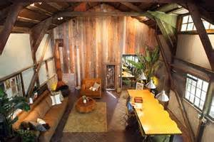barn house interior inside pole barn homes costa mesa barn turned into a slice of loft like living house plans
