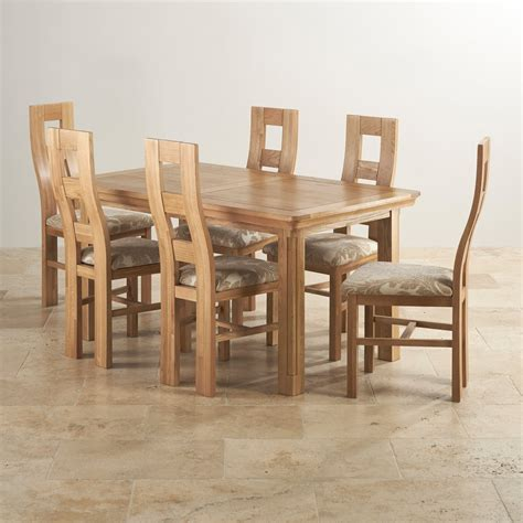 canterbury dining table and 6 chairs oak furniture canterbury dining table and 6 chairs oak furniture land