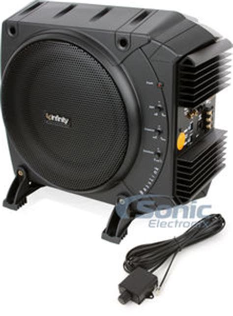 infinity powered subwoofer infinity basslink 10 quot class d powered subwoofer system