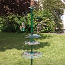 Garden Pole Droll Yankee Garden Pole Feeding Stations Bird Feeders
