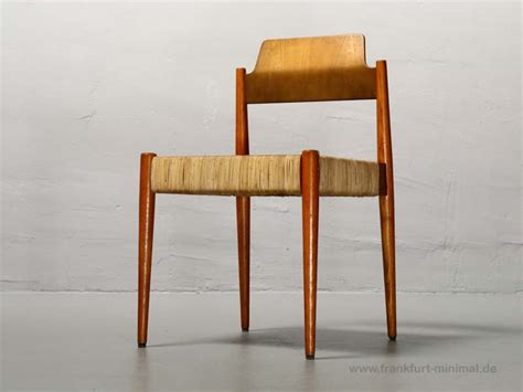 Eiermann Stuhl 47 by Sold Egon Eiermann Wilde Spieth Se 119 Kirchenstuhl F 252 R