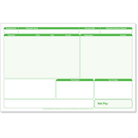 sage payslip plus stationery sage store
