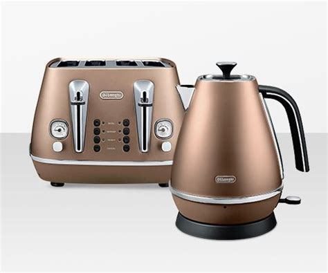 Delonghi Toaster And Kettle Set Cream Kettles And Toasters