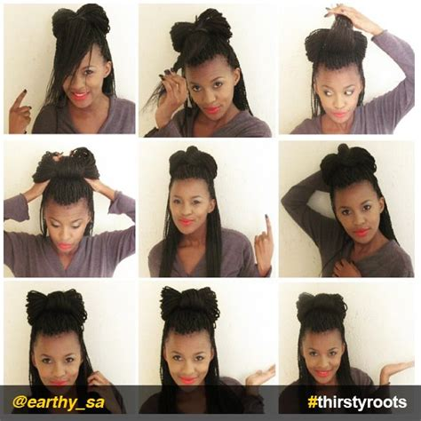 how to do a box braid step by step how to do a bow hairstyle on braids or locs locs