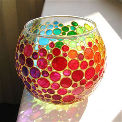 Home Decor Distributors shop hand painted glass candle holders on wanelo